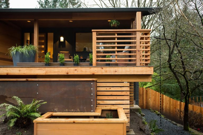 A Modern Take - Front Porch