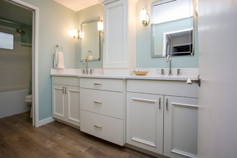 Traditional Transformed Master Bath